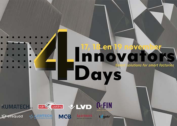 Dit evenement zal worden gehouden op woensdag 17, donderdag 18 en vrijdag 19 november bij Valk Welding in Alblasserdam