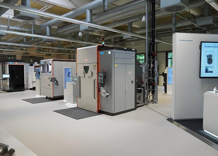 Een kijkje in het nieuwe Medical Solutions Center in Schorndorf.