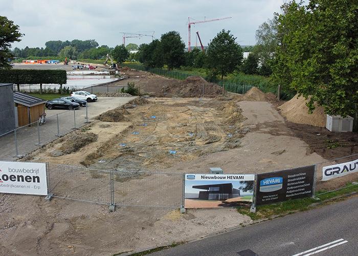De nieuwbouw bevindt zich ook in Veghel op ca. 1,5 km vanaf de huidige locatie, nabij de bruisende Noordkade