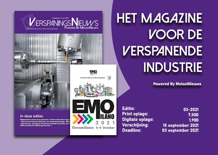 EMO loopt als rode draad door nieuwe editie VerspaningsNieuws