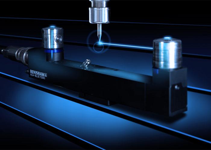 De NC4+ Blue F230 contactloze taster voor gereedschapinstelling.