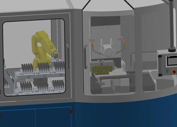 Met de Fully Automatic Weldon Grinding Machine kan de klant van Reintjes Systems zijn hardmetalen freesgereedschappen volledig geautomatiseerd voorzien van Weldon opspanvlakken.