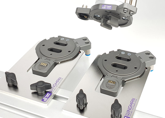 De Wingman Tool Changer van TripleA Robotics geeft cobots meer functionaliteit