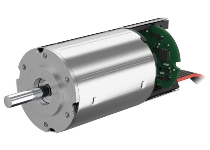 In de servogestuurde grijpklauwen zorgen borstelloze DC servomotoren met geïntegreerde Speed Controller van Faulhaber voor precisie en betrouwbaarheid.