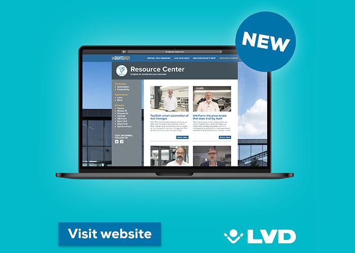 LVD introduceert een Resource Center.