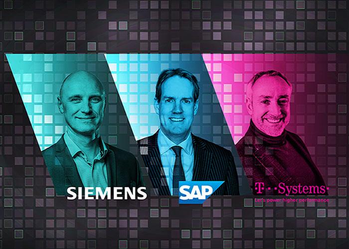 Door hun producten en diensten geïntegreerd in te zetten, is volgens SAP, Siemens en T-Systems maatwerk op het gebied van digitalisering binnen handbereik.