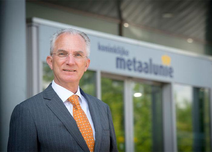 """Metaalunie-voorzitter Fried Kaanen heeft er een hard hoofd in dat er snel een cao-akkoord ligt. """"Er moet rekening worden gehouden met het voorschot dat onze sector in het verleden al heeft genomen op de loonontwikkeling."""""""