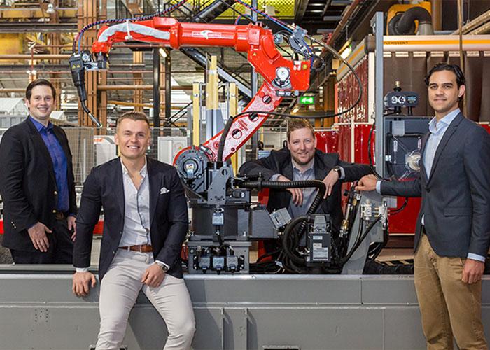 IMSystems wil de automatiseringsindustrie ontwrichten met zijn gepatenteerde Archimedes DriveTM. Links CEO Jack Schorsch.