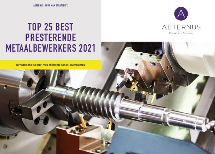 Aeternus Corporate Finance heeft een ranking gemaakt met de Top 25 Metaalbewerkers. Blokland Metaalbewerking komt als beste naar voren.