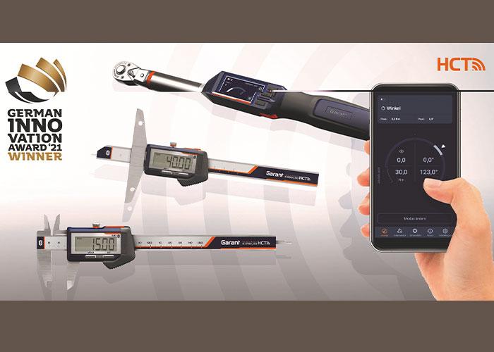 De innovatieve producten van de Hoffmann Group Connected Tools (HCT).