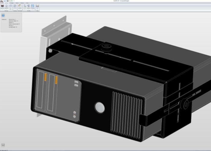 De optionele AutoPOL Batch & Remote functionaliteit maakte automatische bewerking van meerdere enkelvoudige 3D onderdelen al langer mogelijk, nu is deze functionaliteit uitgebreid met het automatisch verwerken van 3D plaatwerksamenstellingen
