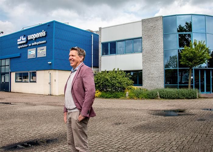 """Paul Stortelder, directeur van Wopereis: """"Hoewel we op internationaal vlak opereren, blijven we een kleinschalig bedrijf waarin veel aandacht is voor persoonlijke groei van onze medewerkers."""