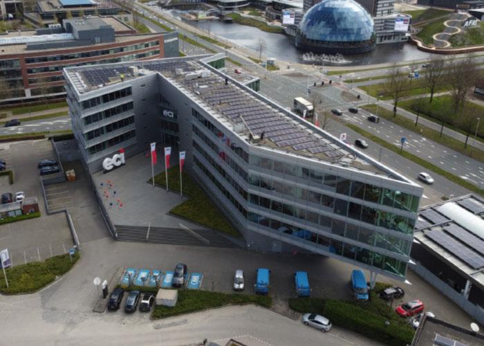 Medio 2020 heeft ECI zich gevestigd in een modern pand in Leusden