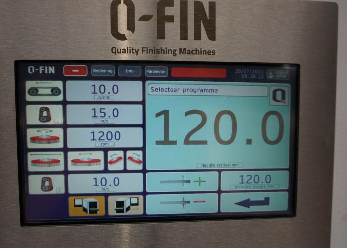 Alle functionaliteiten in combinatie met het HMI touchscreen (met zowel vaste als instelbare programma's) maken de F1200 XL tot een machine die helemaal 4.0 ready is.