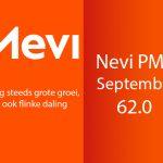 Op iedere eerste werkdag van de maand publiceert Nevi het nieuwste Nevi PMI cijfer opgesteld door IHS Markit