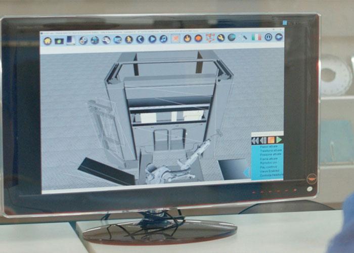 De FX Cell 3D software die Euromac heeft ontwikkeld voor geautomatiseerde afkantpersen is ontworpen om aan de eisen van hoge gebruiksvriendelijkheid te voldoen.