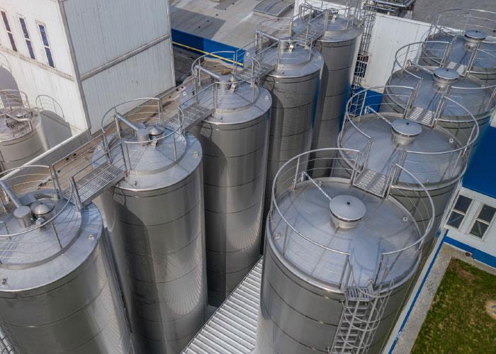Een roestvast staal installatie is door zijn lage levenscycluskosten vaak de meest rendabele keuze
