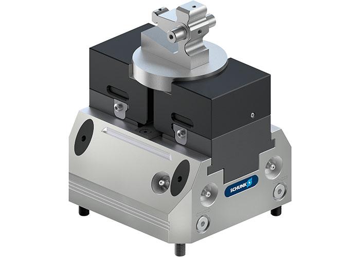 Het klemkrachtblok KSP3 opent nog meer toepassingsgebieden op het gebied van geautomatiseerde machinebelading. Het is het eerste product van de nieuwe Tandem3.