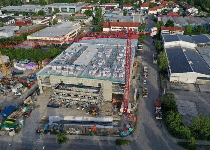 In Sauerlach bouwt Spinner aan een nieuwe fabriek voor de productie van precisiecomponenten. (foto: Spinner)